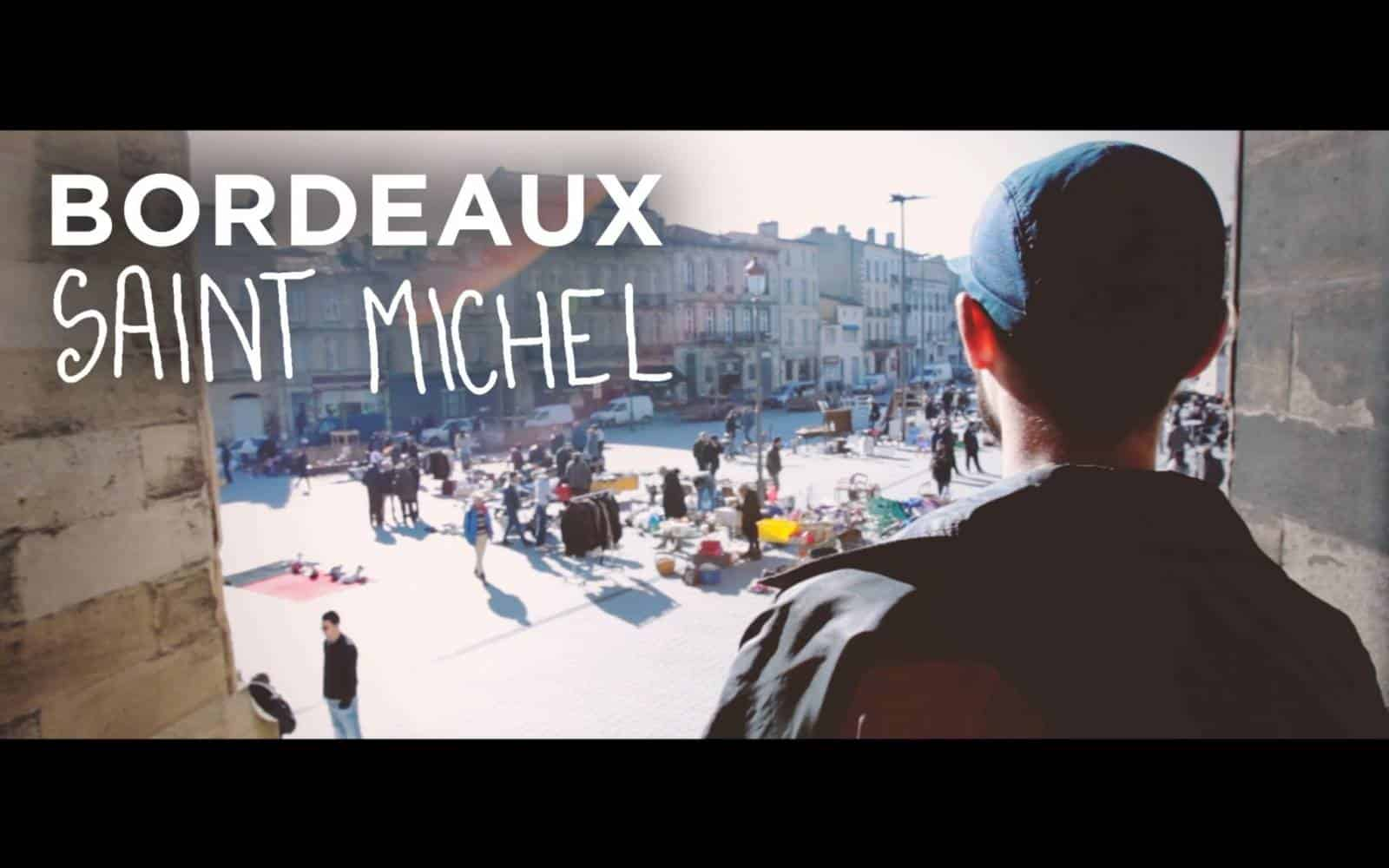 Quartier Saint-Michel à Bordeau
