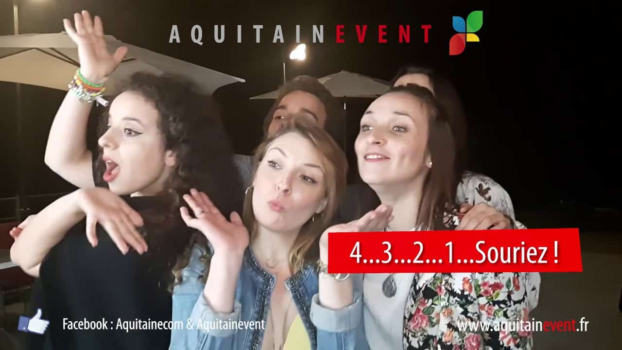 AquitainEvent Animation photo événementiel