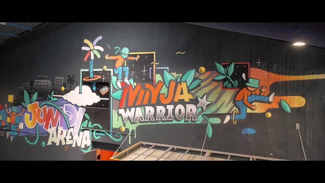 Ninja Warrior bordelais – Jump Arena Bordeaux