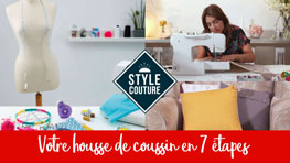 DIY Housse de coussin – Cha's Hands